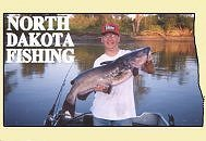 Small lakes and rivers fishing reports catfish walleye for North dakota fishing report